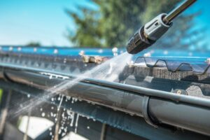 roofers in Lawrenceville install, inspect, and clean gutters